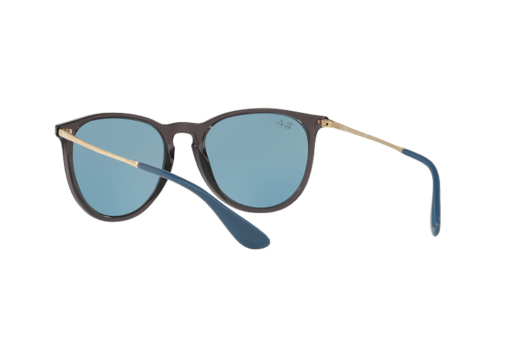 Ray Ban Erika Trasparent Grey lente Light Blue cod. RB4171 6340F7 54 - Image 5