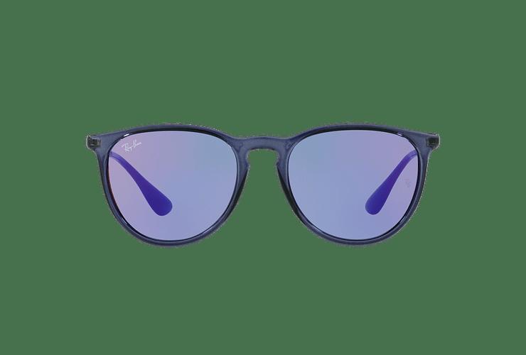 Ray Ban Erika Trasparent Blue lente Dark violet / blue cod. RB4171 6338D1 54 - Image 12