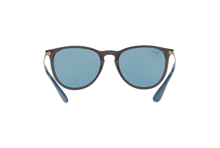 Ray Ban Erika Trasparent Grey lente Light Blue cod. RB4171 6340F7 54 - Image 6