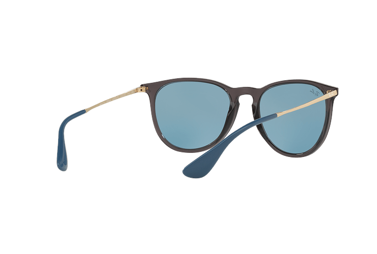 Ray Ban Erika Trasparent Grey lente Light Blue cod. RB4171 6340F7 54 - Image 7
