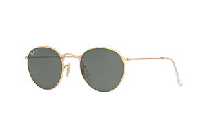 Ray-Ban Round Metal Polarized