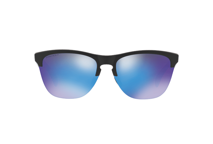 Oakley Frogskins Lite Matte Black lente Sapphire PRIZM cod. OO9374-0263 - Image 12