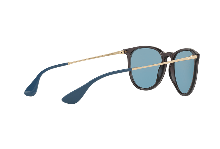 Ray Ban Erika Trasparent Grey lente Light Blue cod. RB4171 6340F7 54 - Image 8