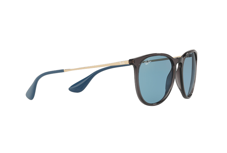 Ray Ban Erika Trasparent Grey lente Light Blue cod. RB4171 6340F7 54 - Image 10