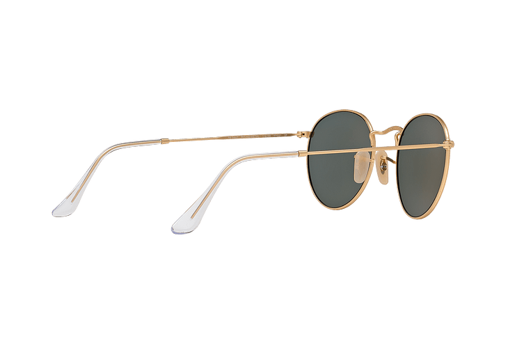 Ray Ban Round Metal Matte Gold lente Green Polarized cod. RB3447 112/58 50 - Image 8