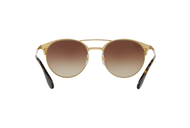 Ray Ban Round RB3545 Gold / Top Havana lente Brown Gradient cod. RB3545 900813 54 - Image 6