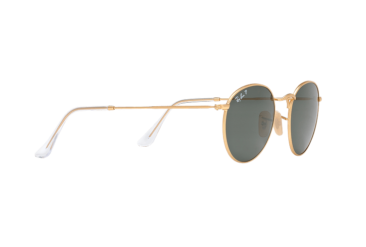 Ray Ban Round Metal Matte Gold lente Green Polarized cod. RB3447 112/58 50 - Image 10