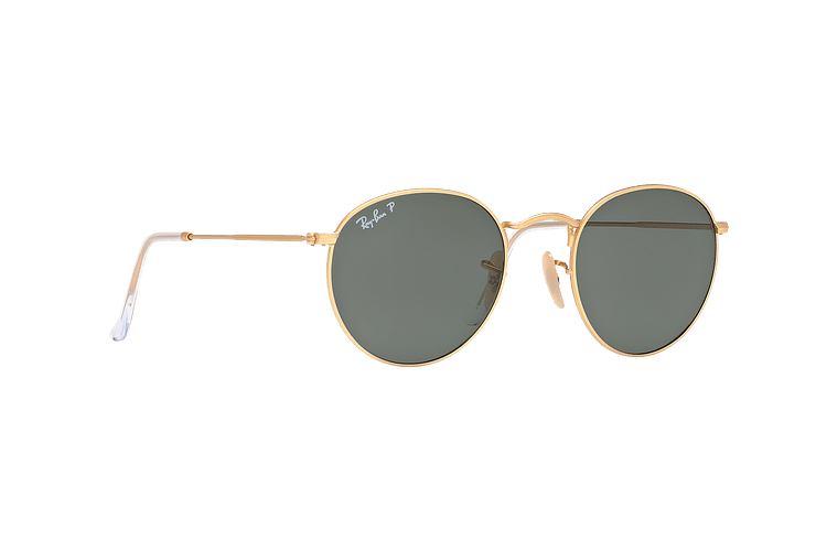 Ray Ban Round Metal Matte Gold lente Green Polarized cod. RB3447 112/58 50 - Image 11