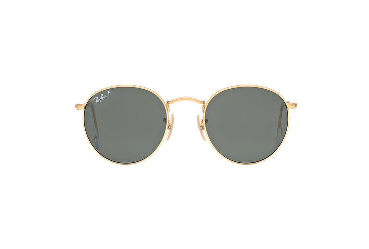 Ray Ban Round Metal Matte Gold lente Green Polarized cod. RB3447 112/58 50 - Image 12