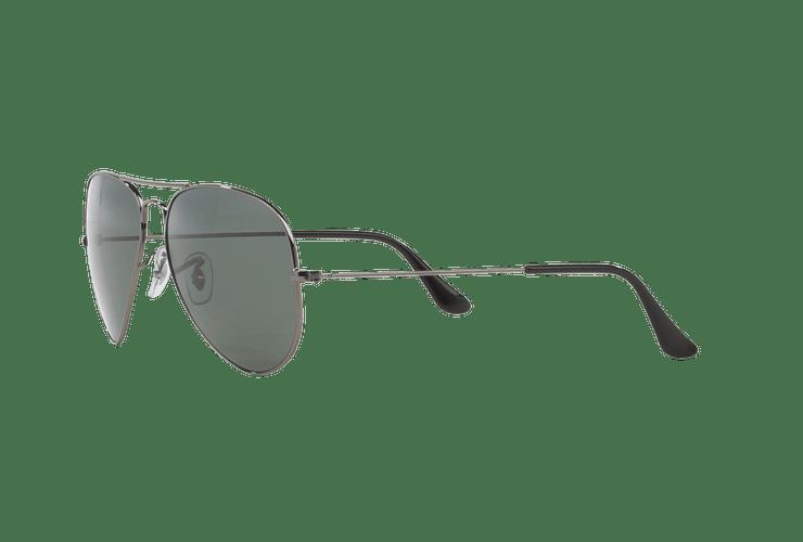 Ray Ban Aviador Gunmetal lente Crystal Green Polarized cod. RB3025 004/58 58 - Image 2