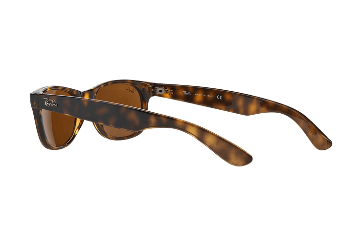 Ray Ban New Wayfarer Light Havana lente Crystal Brown cod. RB2132 710 55 - Image 4