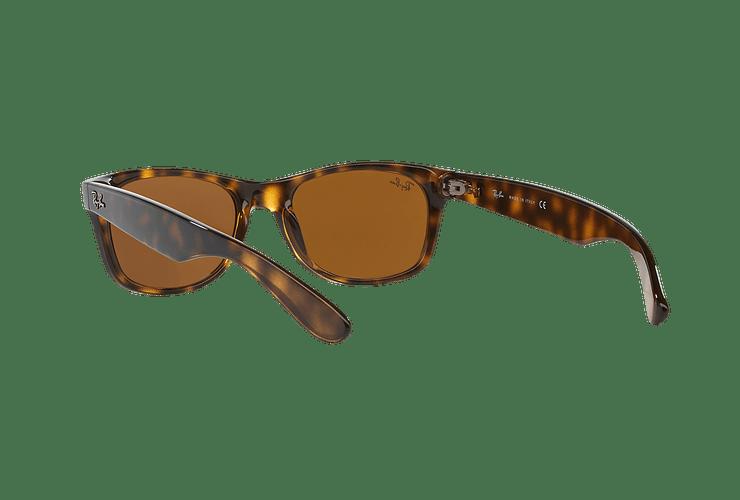 Ray Ban New Wayfarer Light Havana lente Crystal Brown cod. RB2132 710 55 - Image 5