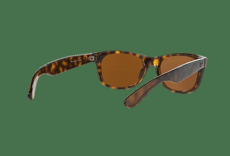 Ray Ban New Wayfarer Light Havana lente Crystal Brown cod. RB2132 710 55 - Image 7