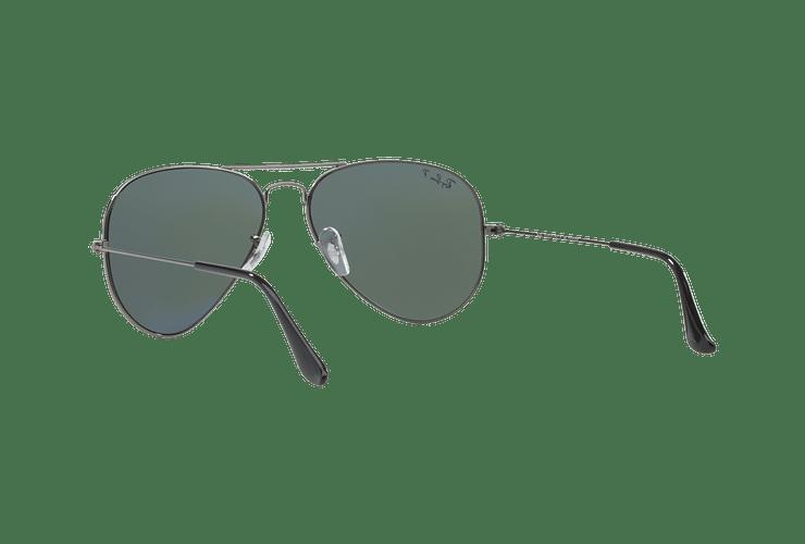 Ray Ban Aviador Gunmetal lente Crystal Green Polarized cod. RB3025 004/58 58 - Image 5
