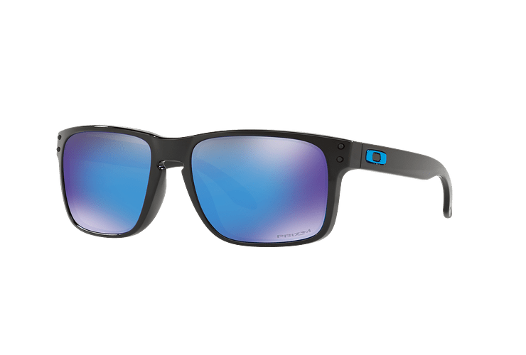 Oakley Holbrook Polished Black lente Sapphire PRIZM cod. OO9102-F555 - Image 1