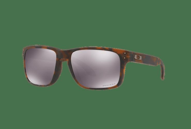 Oakley Holbrook Matte Brown Tortoise lente Black PRIZM cod. OO9102-F455 - Image 1