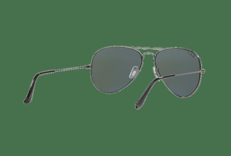 Ray Ban Aviador Gunmetal lente Crystal Green Polarized cod. RB3025 004/58 58 - Image 7