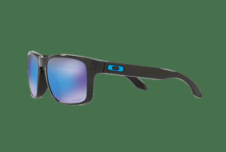 Oakley Holbrook Polished Black lente Sapphire PRIZM cod. OO9102-F555 - Image 2