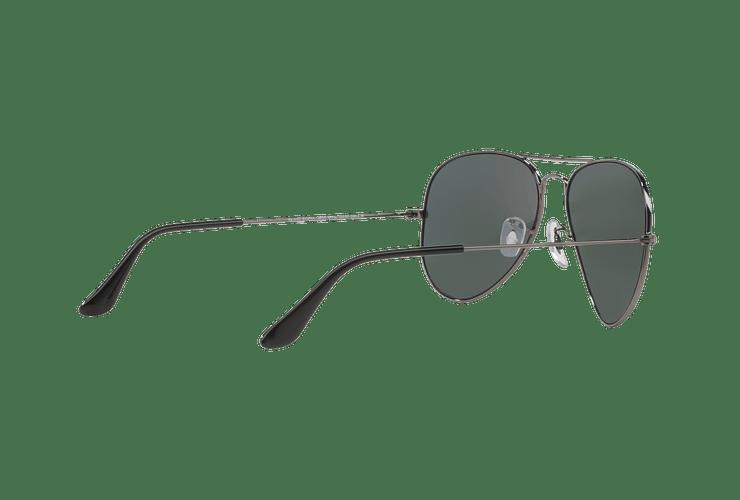 Ray Ban Aviador Gunmetal lente Crystal Green Polarized cod. RB3025 004/58 58 - Image 8