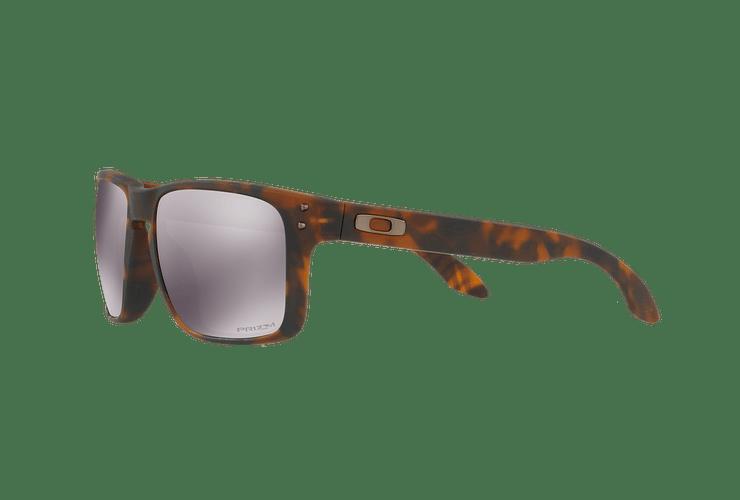 Oakley Holbrook Matte Brown Tortoise lente Black PRIZM cod. OO9102-F455 - Image 2