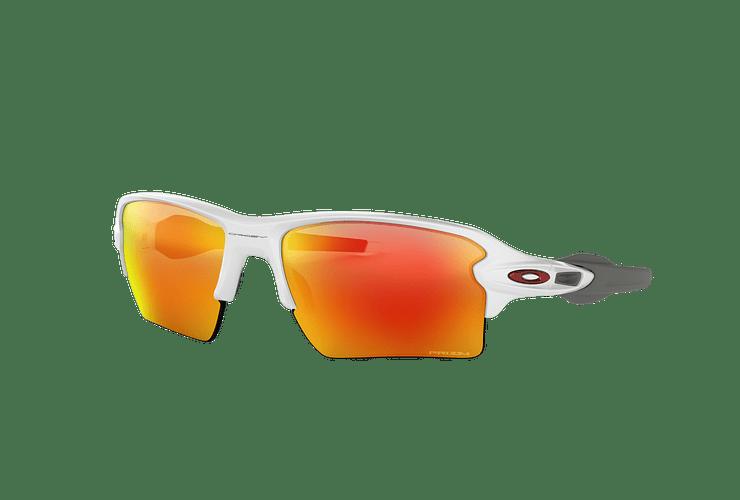 Oakley Flak 2.0 XL Polished White lente Ruby PRIZM cod. OO9188-9359 - Image 1