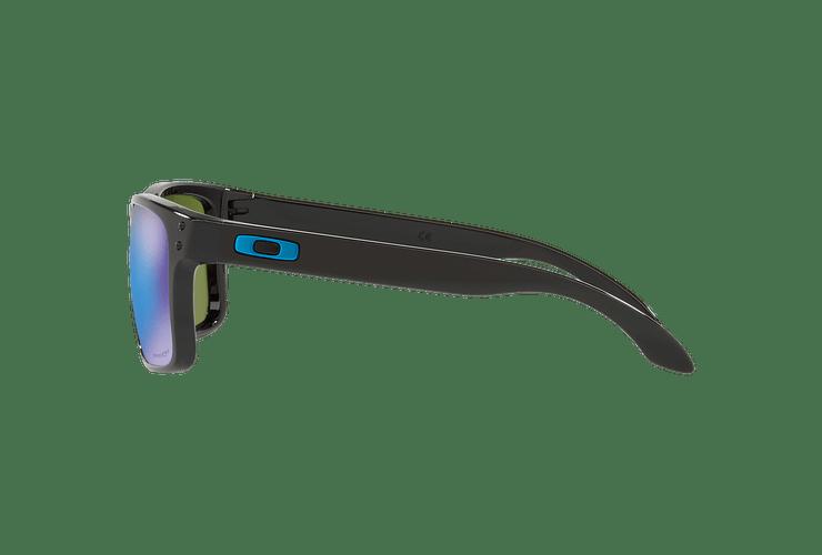 Oakley Holbrook Polished Black lente Sapphire PRIZM cod. OO9102-F555 - Image 3