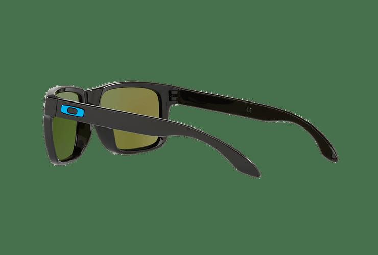 Oakley Holbrook Polished Black lente Sapphire PRIZM cod. OO9102-F555 - Image 4
