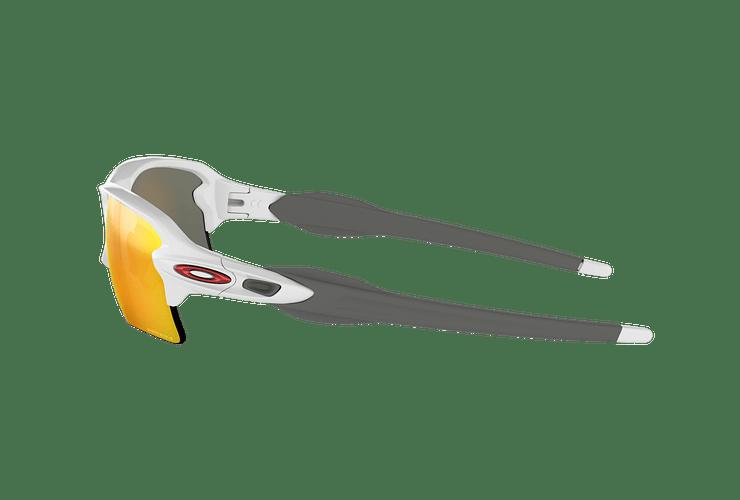 Oakley Flak 2.0 XL Polished White lente Ruby PRIZM cod. OO9188-9359 - Image 3