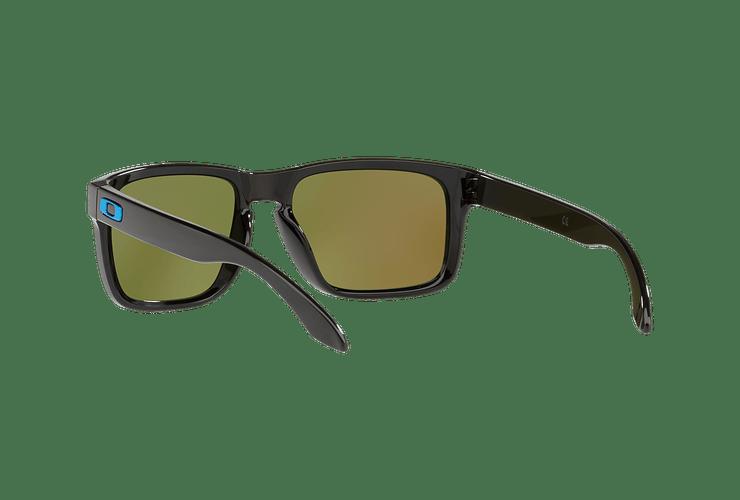 Oakley Holbrook Polished Black lente Sapphire PRIZM cod. OO9102-F555 - Image 5