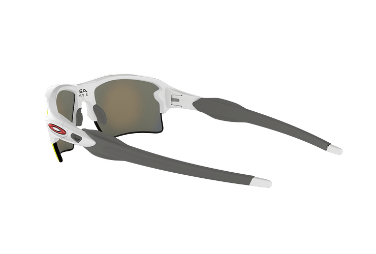 Oakley Flak 2.0 XL Polished White lente Ruby PRIZM cod. OO9188-9359 - Image 4
