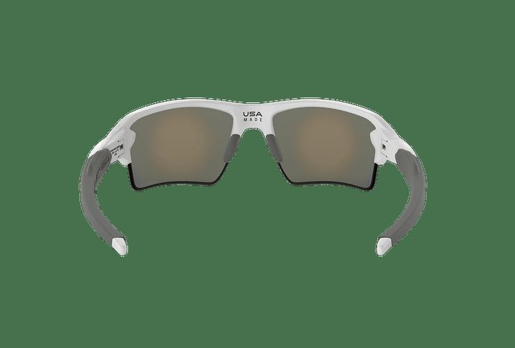 Oakley Flak 2.0 XL Polished White lente Ruby PRIZM cod. OO9188-9359 - Image 6