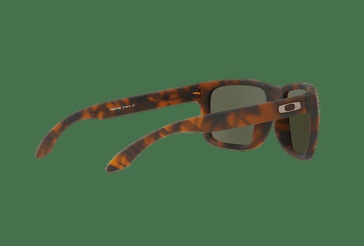Oakley Holbrook Matte Brown Tortoise lente Black PRIZM cod. OO9102-F455 - Image 8