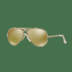 Ray Ban Aviador Matte Gold lente Gold Mirror cod. RB3025 112/93 58