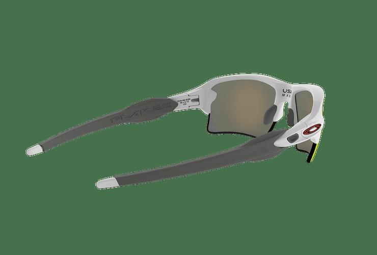 Oakley Flak 2.0 XL Polished White lente Ruby PRIZM cod. OO9188-9359 - Image 8