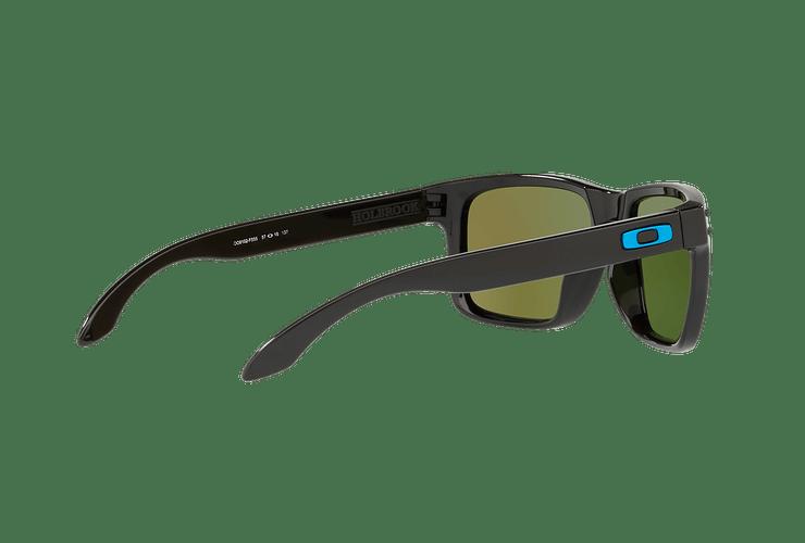 Oakley Holbrook Polished Black lente Sapphire PRIZM cod. OO9102-F555 - Image 8