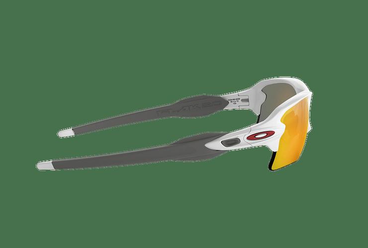Oakley Flak 2.0 XL Polished White lente Ruby PRIZM cod. OO9188-9359 - Image 9