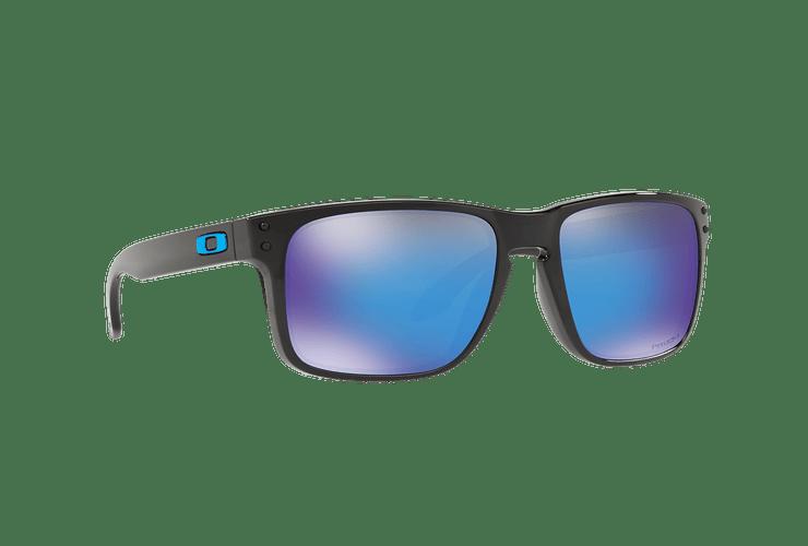 Oakley Holbrook Polished Black lente Sapphire PRIZM cod. OO9102-F555 - Image 11
