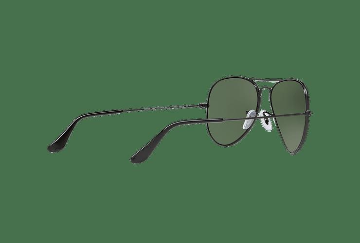Ray Ban Aviador Matte Black lente Green Polarized cod. RB3025 W3361 58 - Image 8