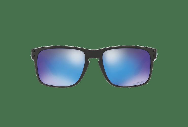Oakley Holbrook Polished Black lente Sapphire PRIZM cod. OO9102-F555 - Image 12