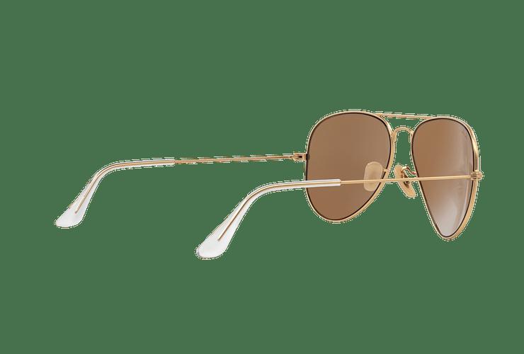 Ray-Ban Aviador Matte Gold lente Gold Mirror cod. RB3025 112/93 58 - Image 8