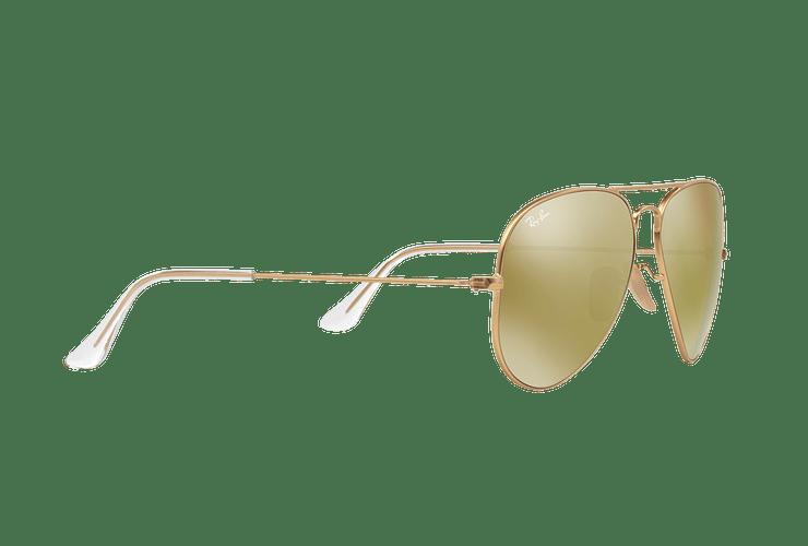 Ray-Ban Aviador Matte Gold lente Gold Mirror cod. RB3025 112/93 58 - Image 10