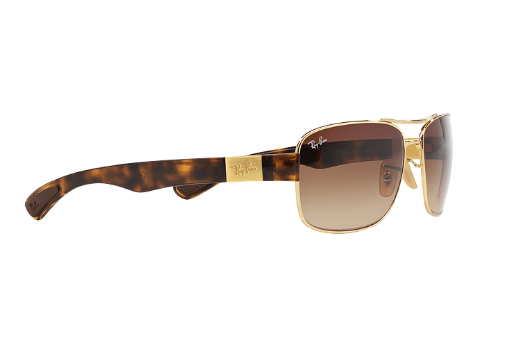 Ray Ban Active RB3522 Gold lente Brown Gradient cod. RB3522 001/13 61 - Image 10