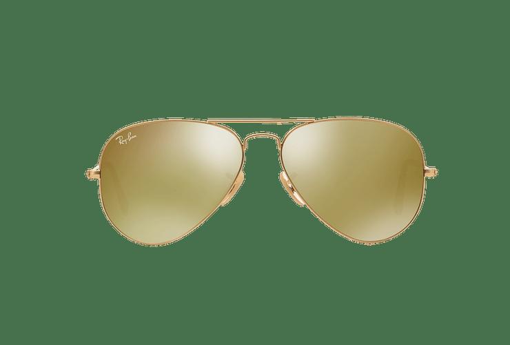 Ray-Ban Aviador Matte Gold lente Gold Mirror cod. RB3025 112/93 58 - Image 12