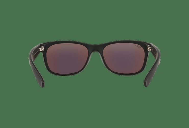Ray-Ban New Wayfarer Rubber Black lente Green Mirror cod. RB2132 622/19 55 - Image 6