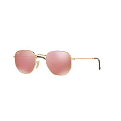 Ray-Ban Hexagonal Gold lente Copper Flash cod. RB3548N 001/Z2 51