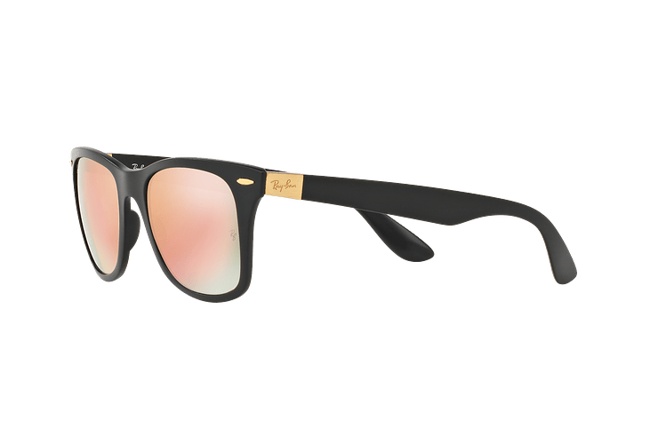 Ray Ban Wayfarer Liteforce Matte Black lente Copper Flash cod. RB4195 601S2Y 52 - Image 2