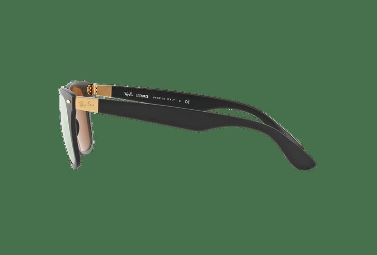 Ray Ban Wayfarer Liteforce Matte Black lente Copper Flash cod. RB4195 601S2Y 52 - Image 3