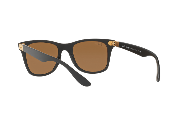 Ray Ban Wayfarer Liteforce Matte Black lente Copper Flash cod. RB4195 601S2Y 52 - Image 5