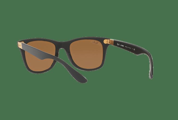 Ray Ban Wayfarer Liteforce Matte Black lente Copper Flash cod. RB4195 601S2Y 52 - Image 5