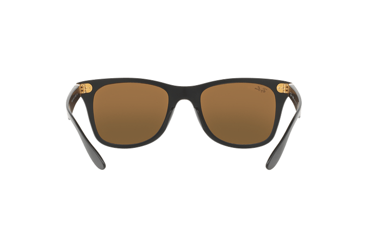 Ray Ban Wayfarer Liteforce Matte Black lente Copper Flash cod. RB4195 601S2Y 52 - Image 6